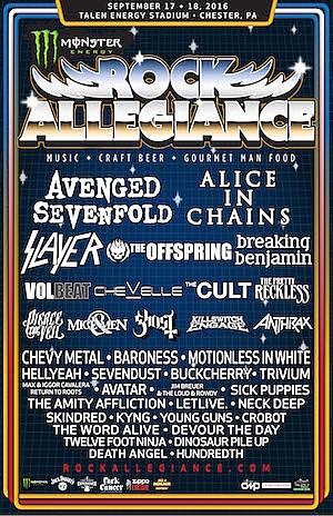 Monster Energy Rock Allegiance 2016