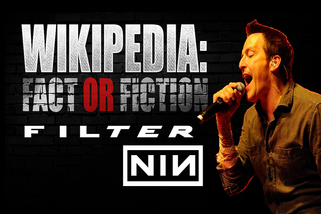 Filter\'s Richard Patrick Plays \'Wikipedia: Fact or Fiction?\'