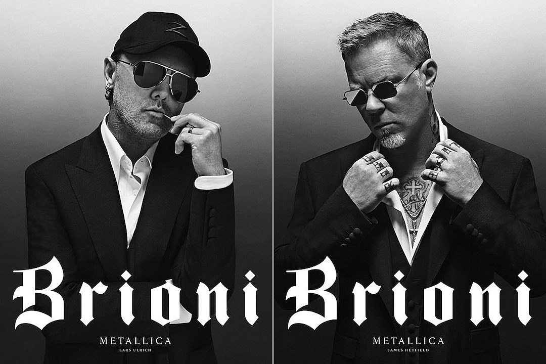 Justin O'Shea (and Metallica) just pulled a 'Saint Laurent' at Brioni