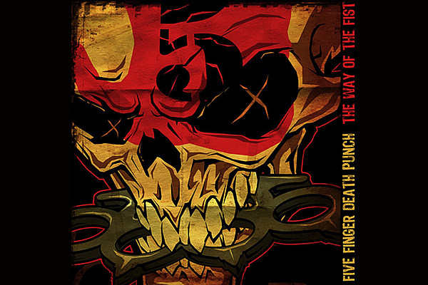 Five Finger Death Punch The Way Of The Fist Album Cover 10 Years Ago: F...