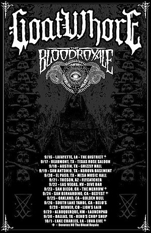 Goatwhore Tour
