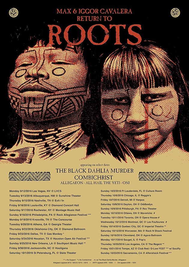 Max and Iggor Cavalera Return to Roots Tour