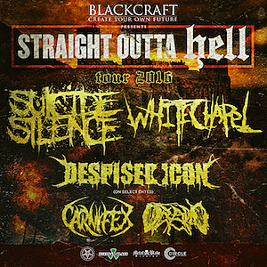 Suicide Silence / Whitechapel Tour