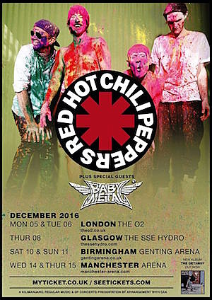 Red Hot Chili Peppers / Babymetal Tour