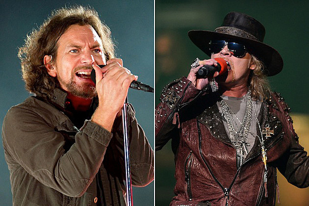 Eddie Vedder, Axl Rose + More on 'Rock and Roll Hall of Fame Live – Volume 2′