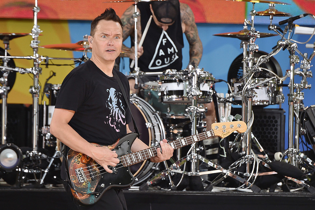 Blink-182 Concertgoer Arrested for Allegedly Biting Security Guard, Two Others Held on Bail