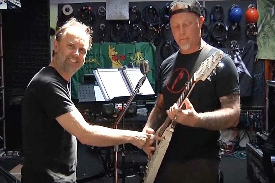 Metallica Eye 'Full-On Touring' in January, Reveal 'Hardwired' Behind the Scenes Recording Video
