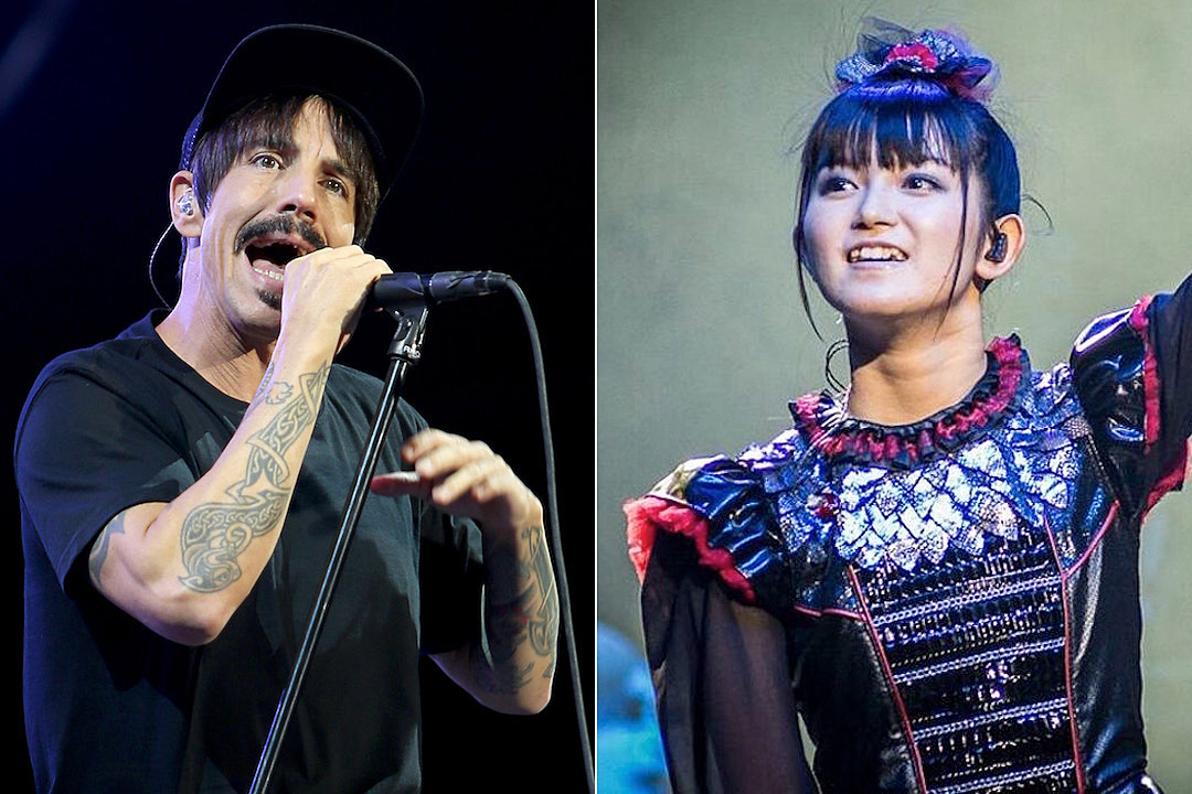 Red Hot Chili Peppers Announce U.K. Tour With Babymetal