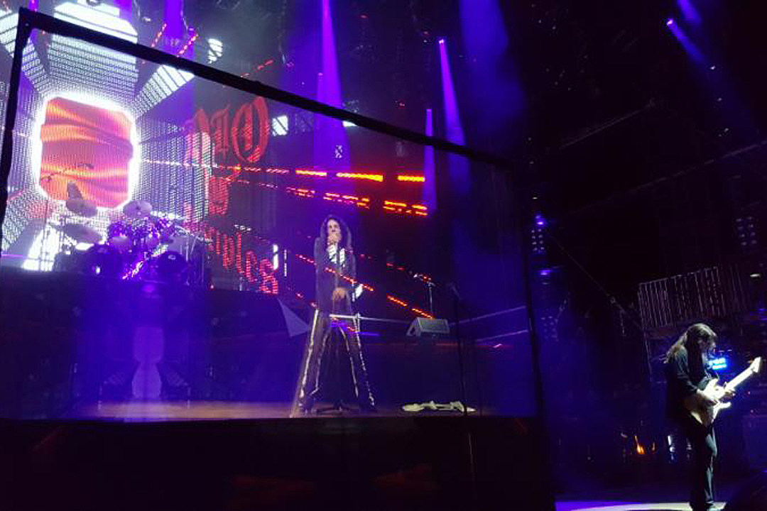 Ronnie James Dio hologram debuts at Germany's Wacken Open Air Festival