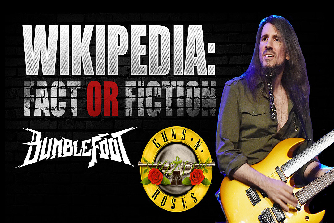 Bumblefoot (ex-Guns N' Roses) Plays 'Wikipedia: Fact or Fiction?'