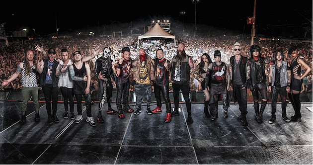 Five Finger Death Punch / Papa Roach / In This Moment / From Ashes to ...