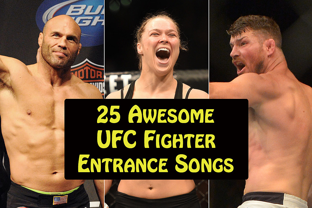 Most intimidating mma walkout songs