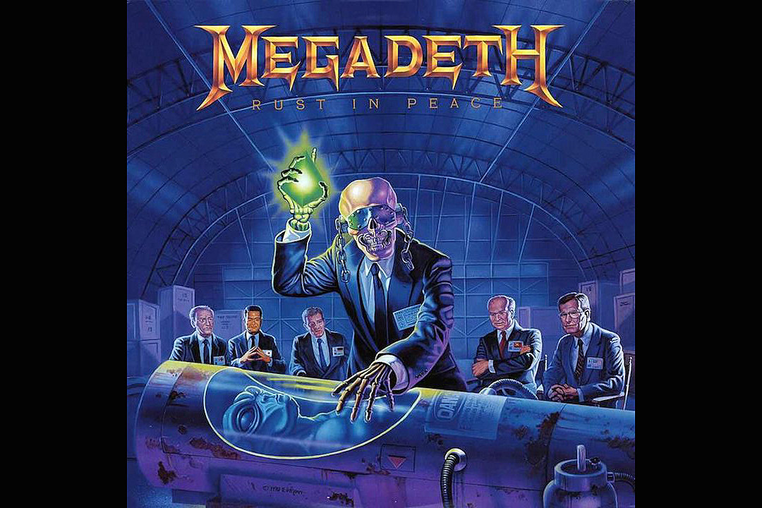Purerock Us America S Pure Rock 27 Years Ago Megadeth Release The Tech Thrash Groundbreaker