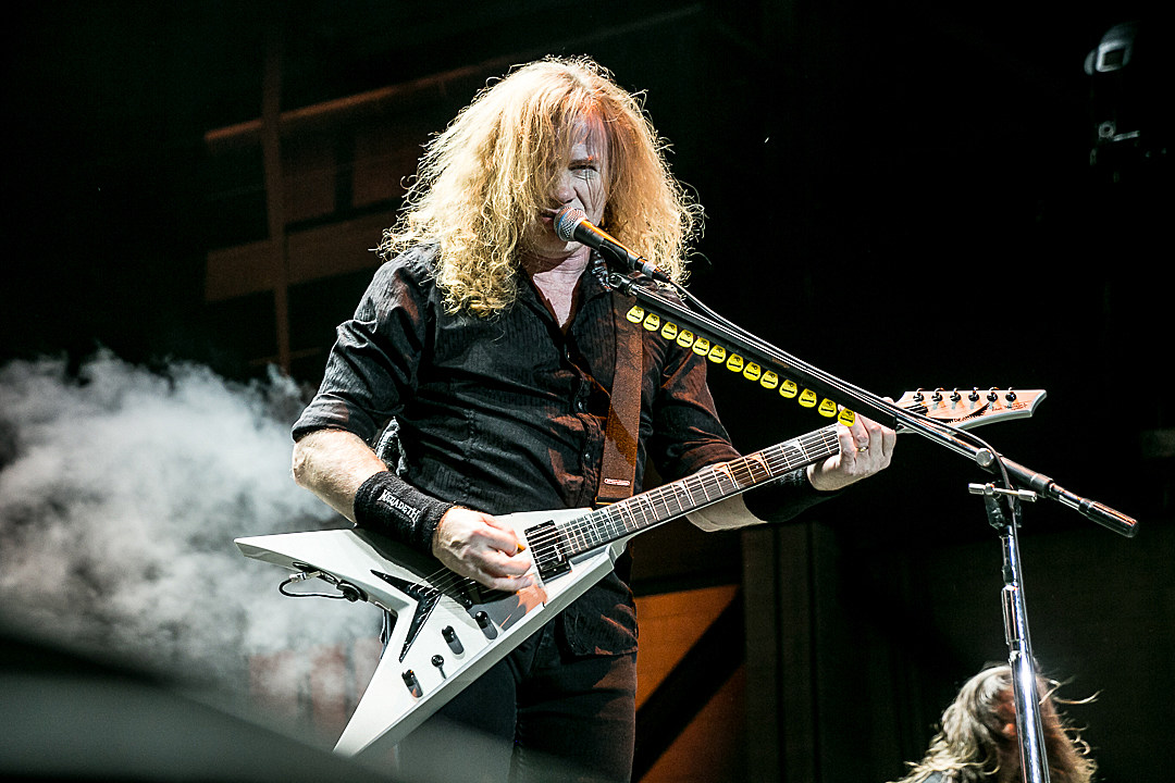 Megadeth's Dave Mustaine Says He Got Over Metallica Using His Songs a Long Time Ago
