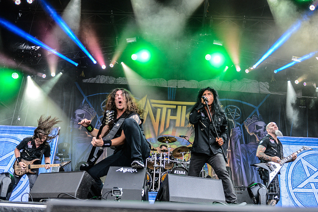Anthrax Film Show From Long Awaited U.K. Headlining Tour for Upcoming DVD
