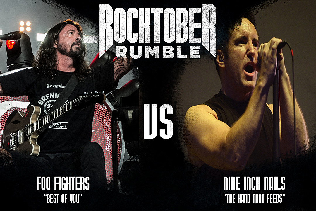 Foo Fighters vs. Nine Inch Nails - Rocktober Rumble, Round 1