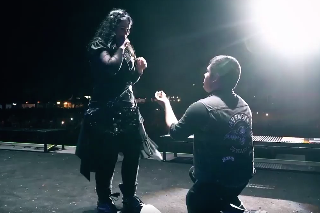 Fans Get Engaged After Onstage Proposal at Avenged Sevenfold Festival Show