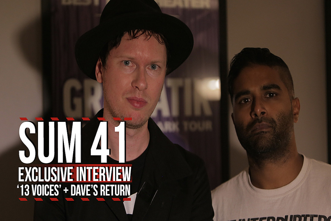 The Fall and the Rise: Sum 41 Talk '13 Voices,' Dave Baksh's Return + Deryck Whibley's Recovery
