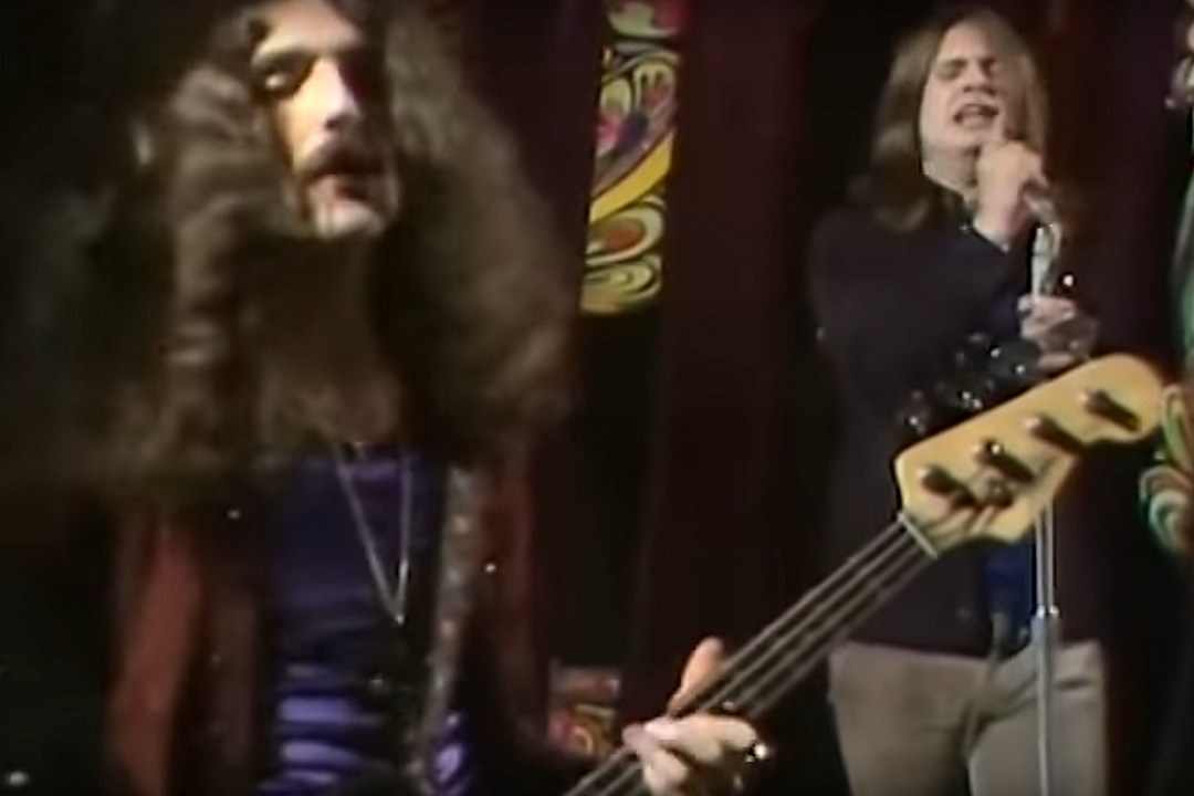 Black Sabbath Share Footage Of 1970 TV Performance of 'Paranoid'