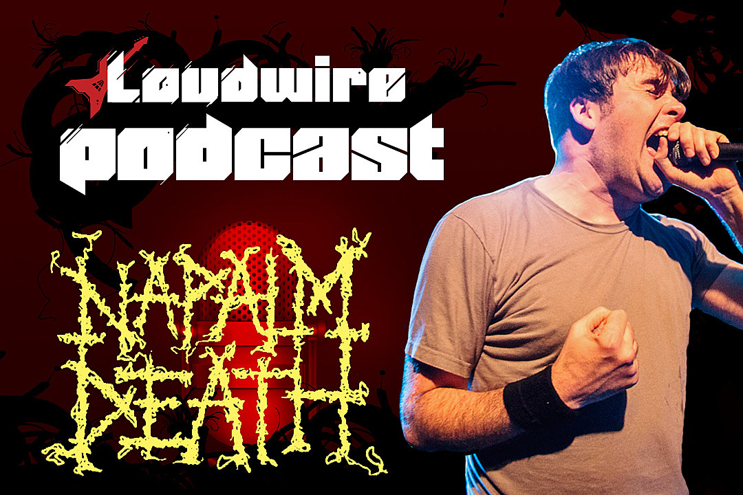 Loudwire Podcast #9 – Napalm Death's Barney Greenway Gets Political