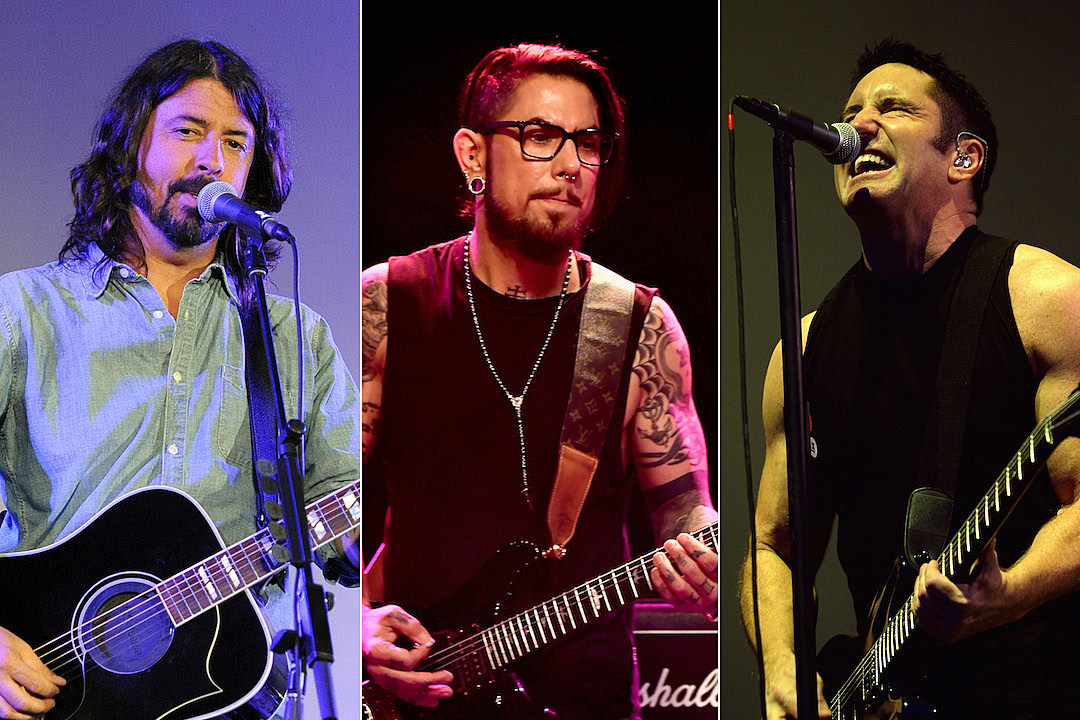 Dave Grohl + Dave Navarro Among Guests on Nine Inch Nails EP