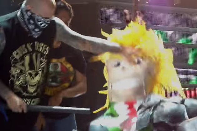 Guns N' Roses Invite Fans in Mexico Onstage to Bash Donald Trump Pinata