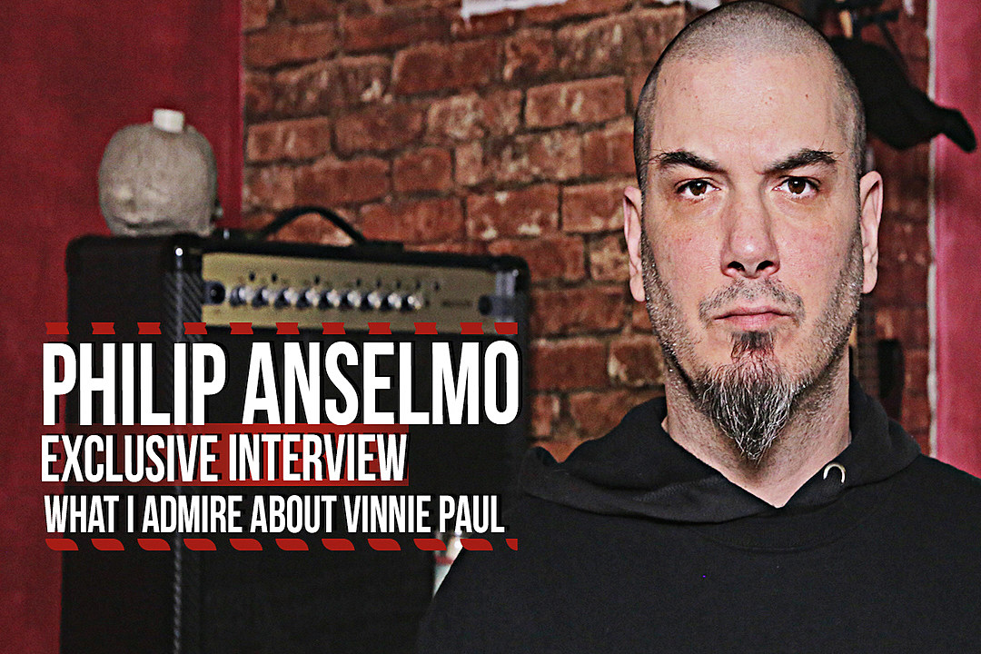 Philip Anselmo: What I Admire About Vinnie Paul (2016 Interview)
