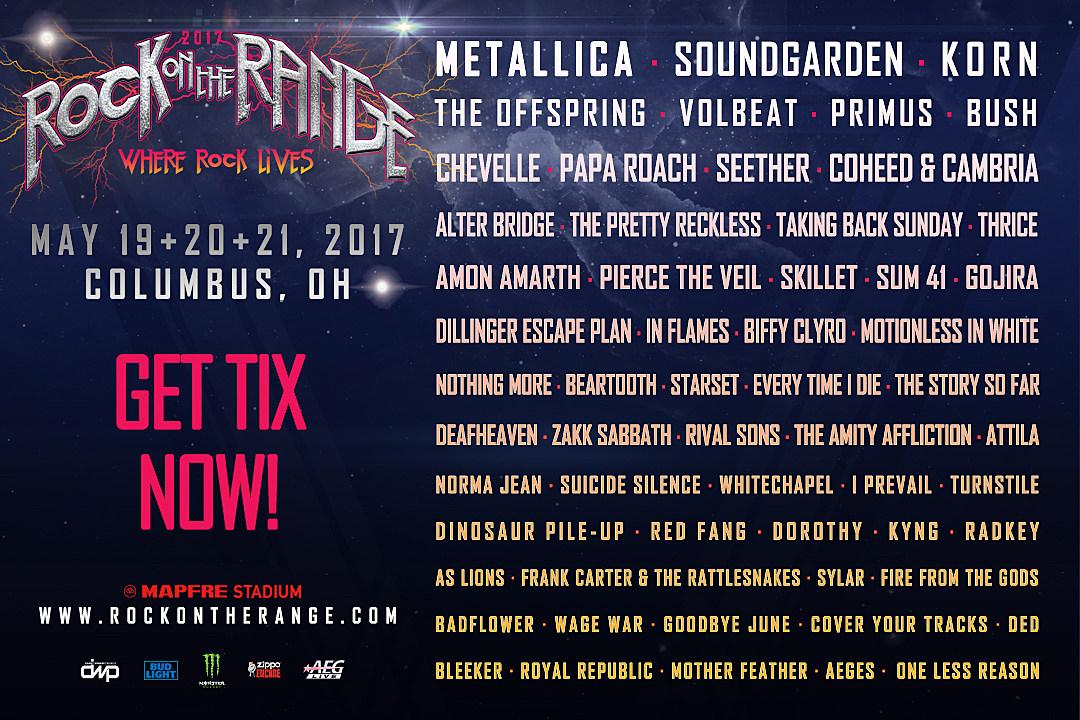 Rock On The Range Tickets Onsale Now