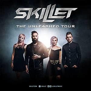 Skillet - Unleashed Tour
