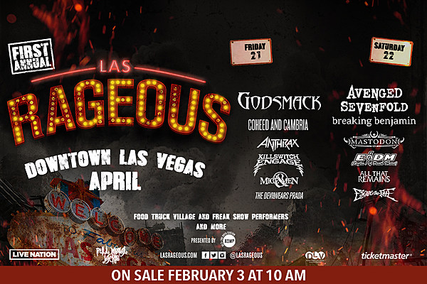 First Annual Las Rageous Festival April 21st & 22nd On