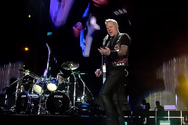 Watch Pro-Shot Footage of Metallica's Live Debut of 'Now That We're Dead'