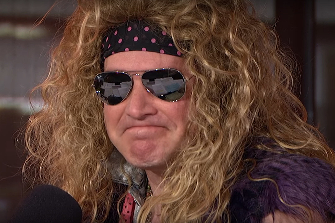Sports Talk Host Rich Eisen Pays Off Jerry Cantrell Fantasy Football Bet by Dressing as Steel Panther Member