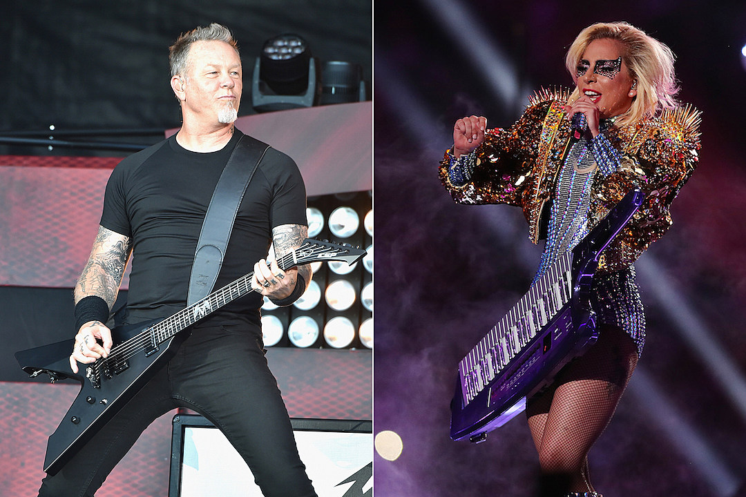 Lady Gaga and Metallica team up for duet at the Grammys