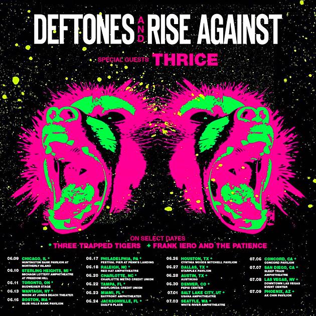 Who S Headlining Deftones Rise Against Tour
