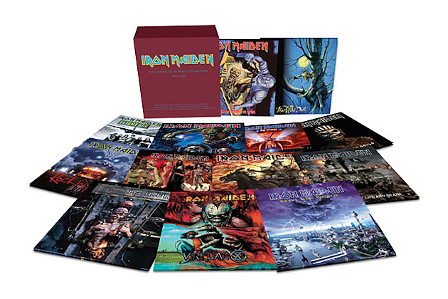 Iron Maiden Reissuing 12 Albums on Vinyl | 630 x 420 png 351kB