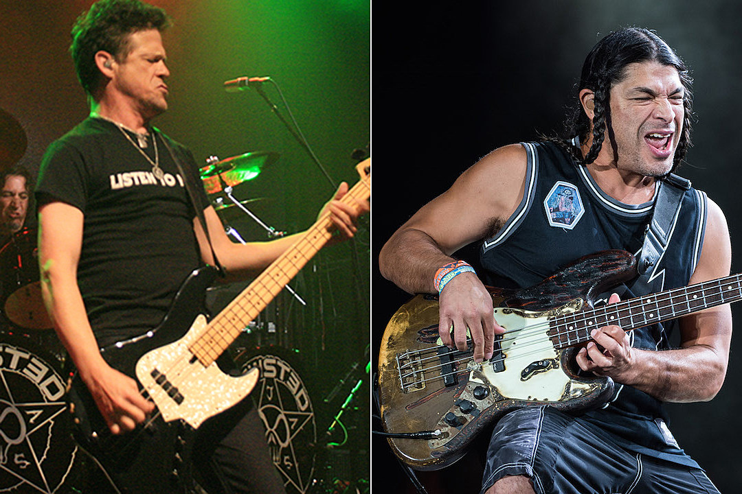 Jason Newsted: Robert Trujillo Is a 'Great F—in' Bass Player' + Metallica's 'Hardwired' Has 'Substance'