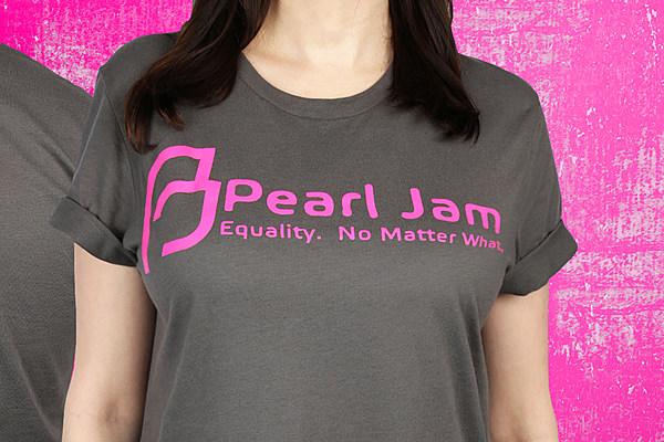 Pearl jam donating merchandising proceeds to planned for Insane inflatable 5k shirt