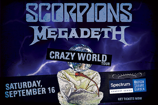 Get Tickets to Scorpions with Special Guest Megadeth at Madison Square Garden