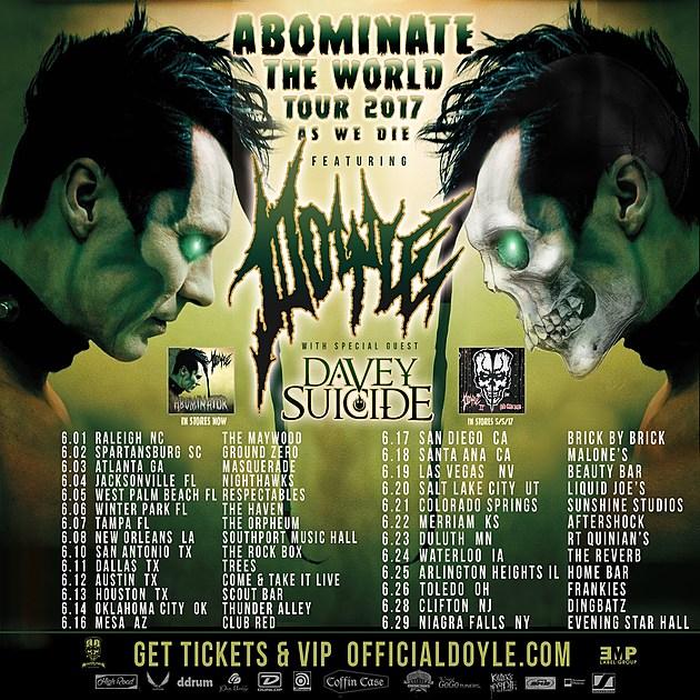 Doyle 2017 Tour