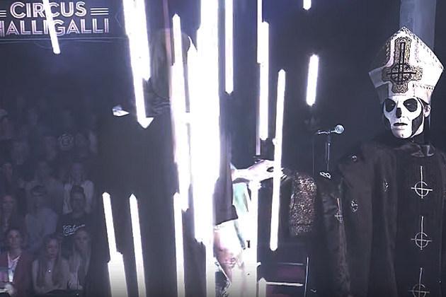 Ghost's Papa Emeritus Joins Kreator for German TV Performance