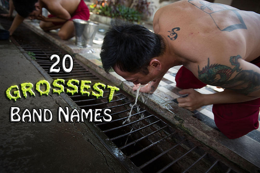 20 Grossest Band Names [NSFW]