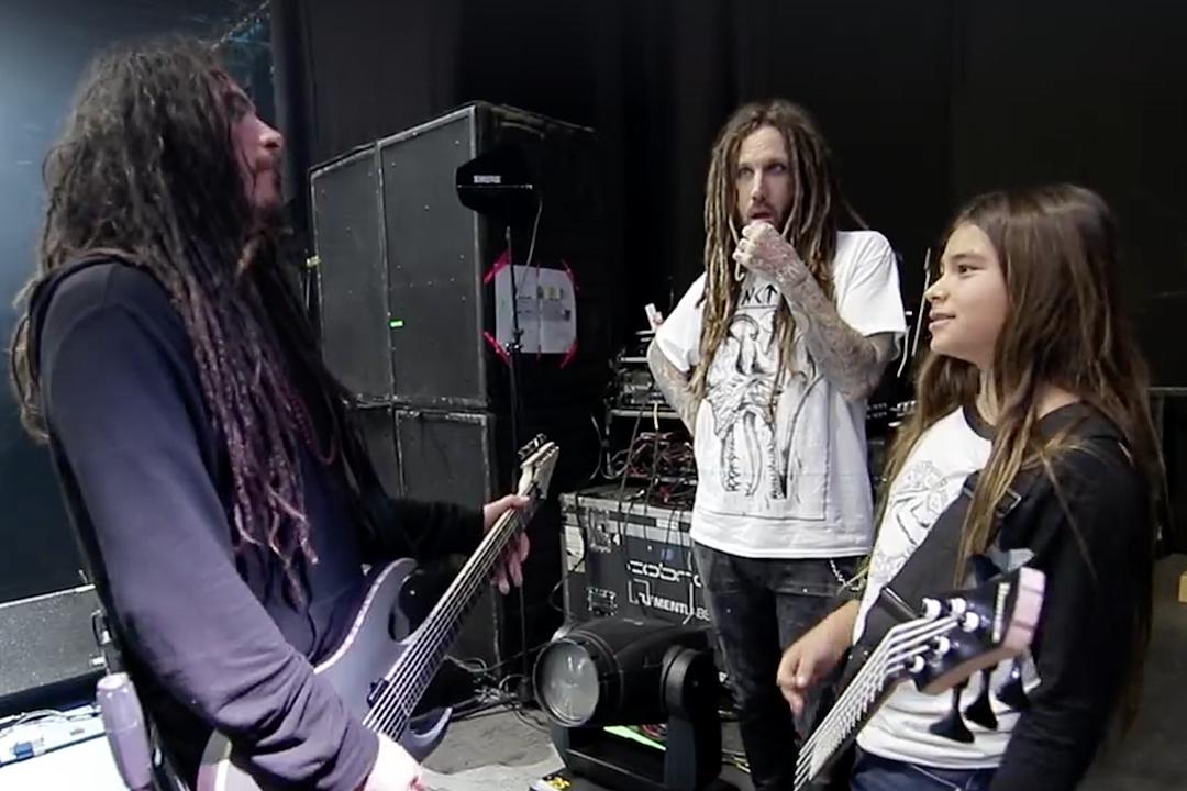 Korn's Munky on Tye Trujillo: 'He's Handling Himself Just Like His Dad'