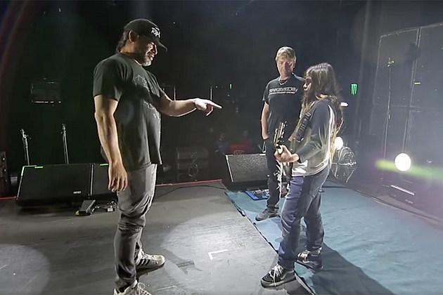 Resultado de imagen de robert trujillo tye on stage
