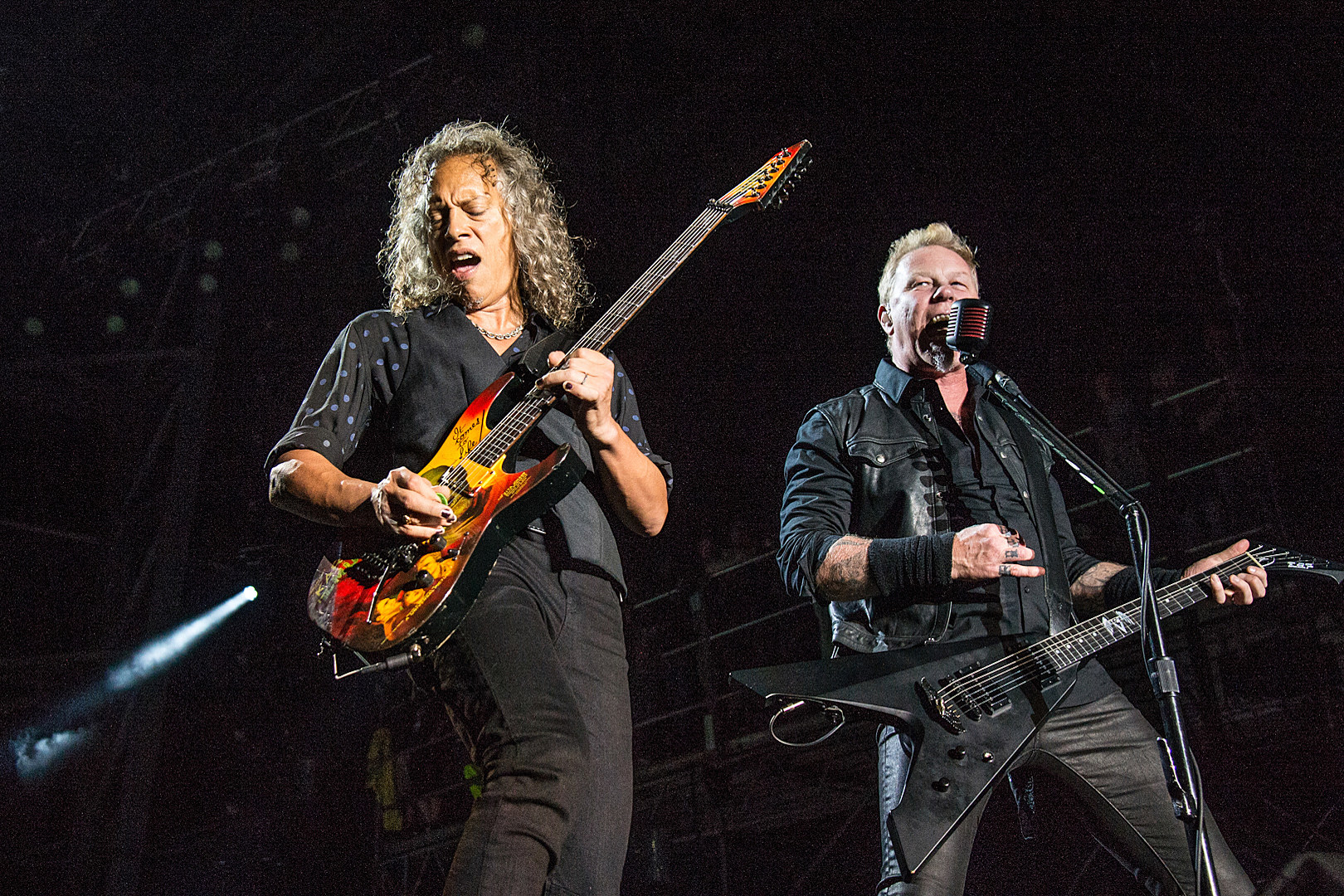 Kirk Hammett, James Hetfield