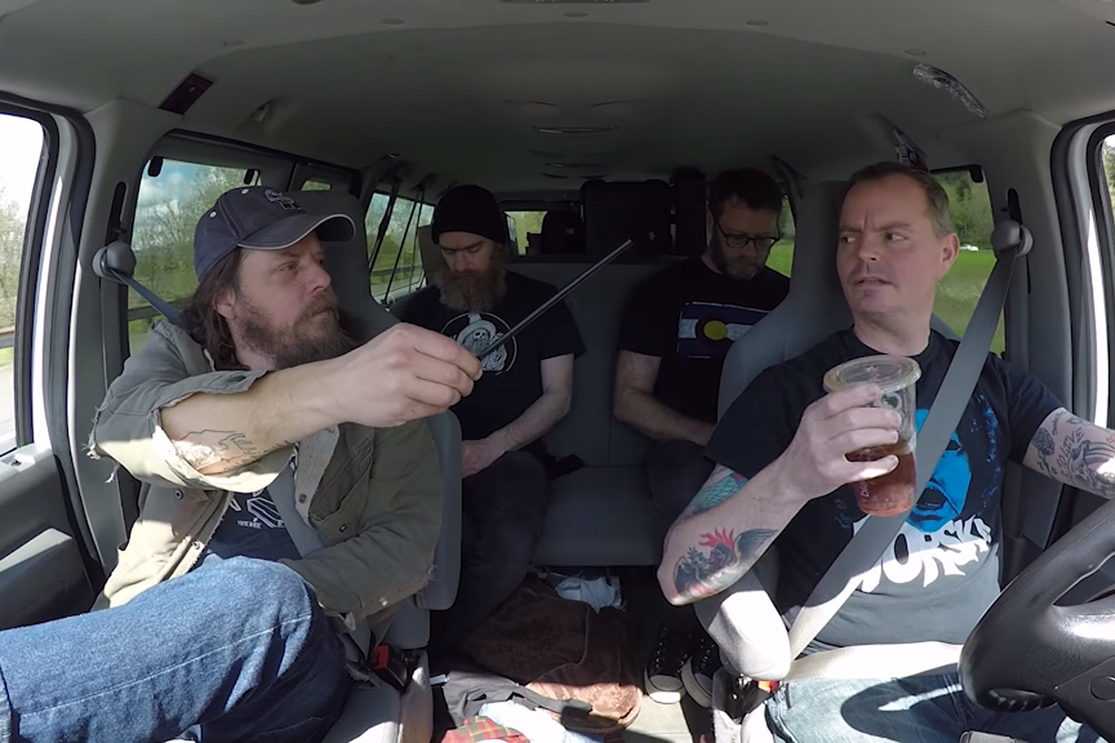 Red Fang Rankle Each Other\'s Neves in \'Cut It Short\' Video