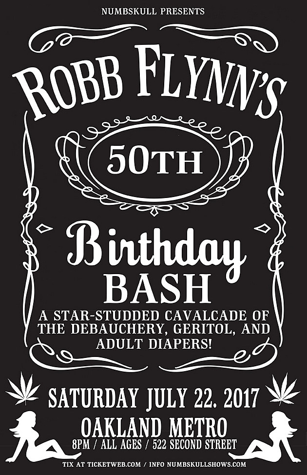 Robb Flynn Birthday Bash