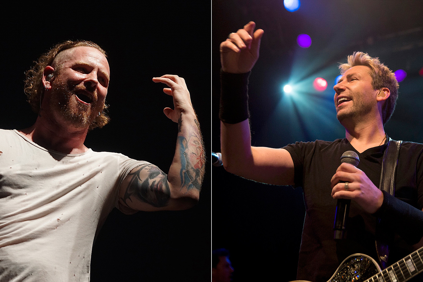 Corey Taylor Reignites Nickelback Beef: 'Chad Kroeger Is to Rock What KFC Is to Chicken'