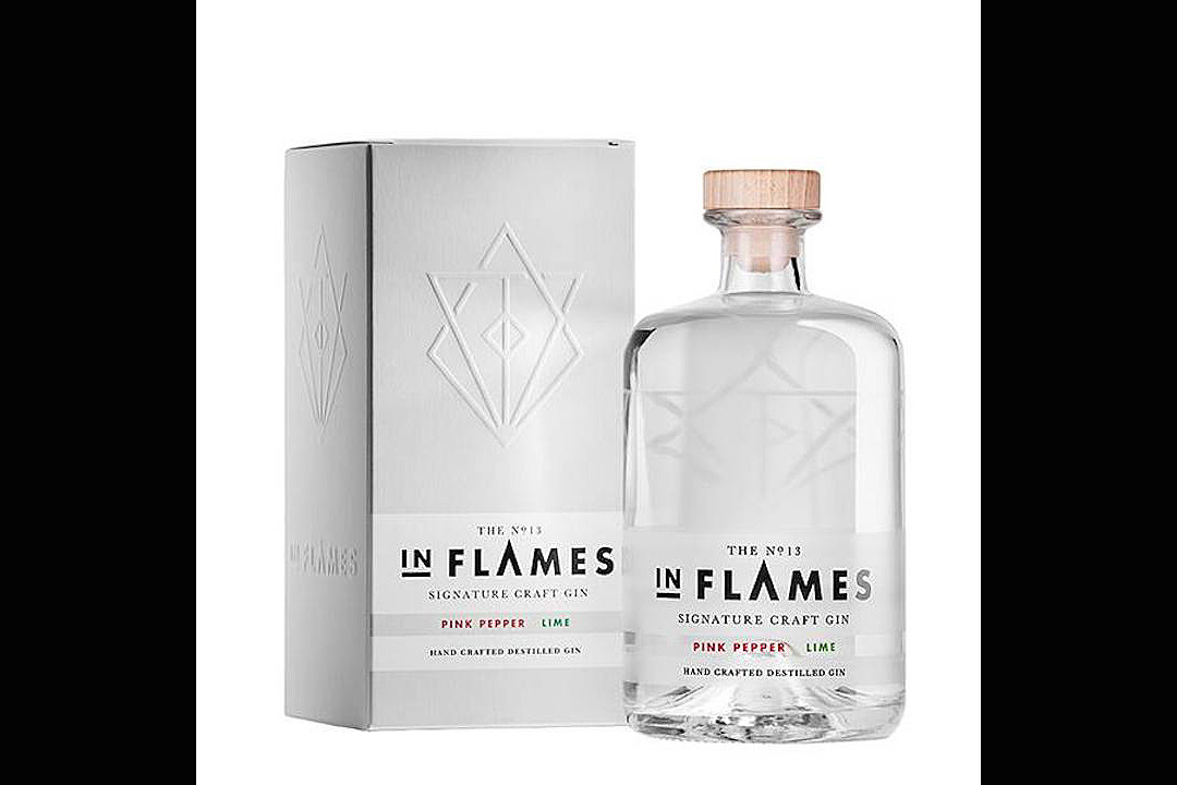 In Flames Create Limited Edition Pink Pepper Gin