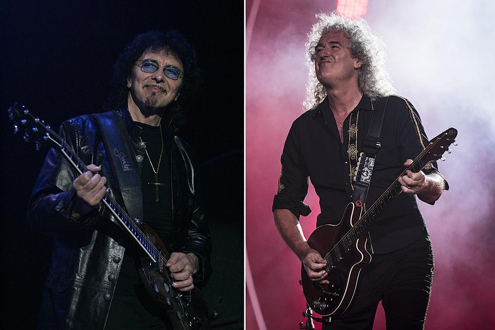 Tony iommi talks collaboration with brian may black sabbath tony iommi talks possible collaboration with queens brian may hints at another black sabbath gig m4hsunfo