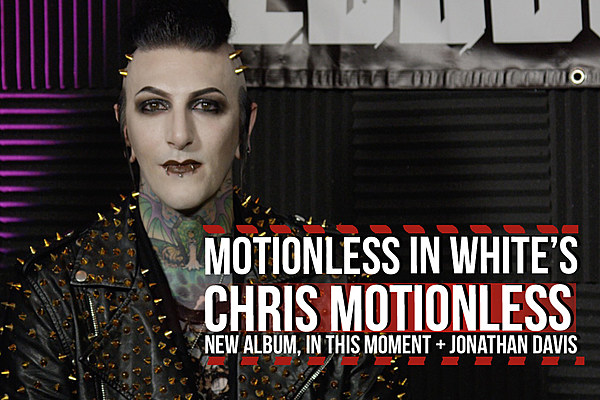Motionless in White Frontman Talks In This Moment ...